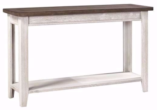 Picture of Eastport Driftwood White Sofa Table