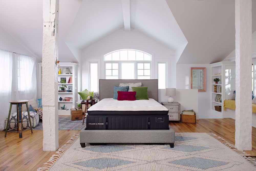 Picture of Stearns & Foster Cassatt Plush Euro Pillowtop Twin XL Mattress Set