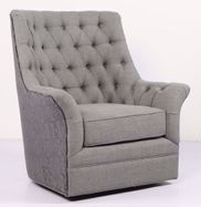 Infinity Grey Swivel Chair