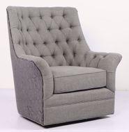 Infinity Grey Swivel Chair
