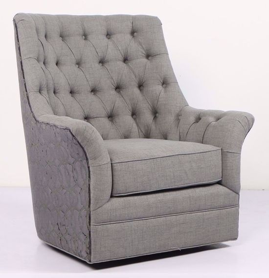 Picture of Infinity Grey Swivel Chair