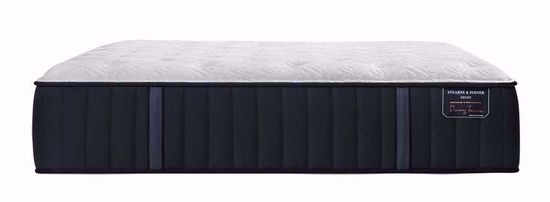 Picture of Stearns and Foster Hurston Luxury Cushion Firm California King Mattress Set
