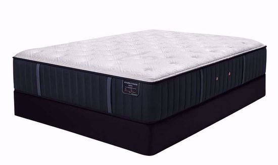 Picture of Stearns and Foster Hurston Luxury Cushion Firm King Mattress Set