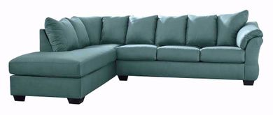 Darcy Sky Two Piece Sectional