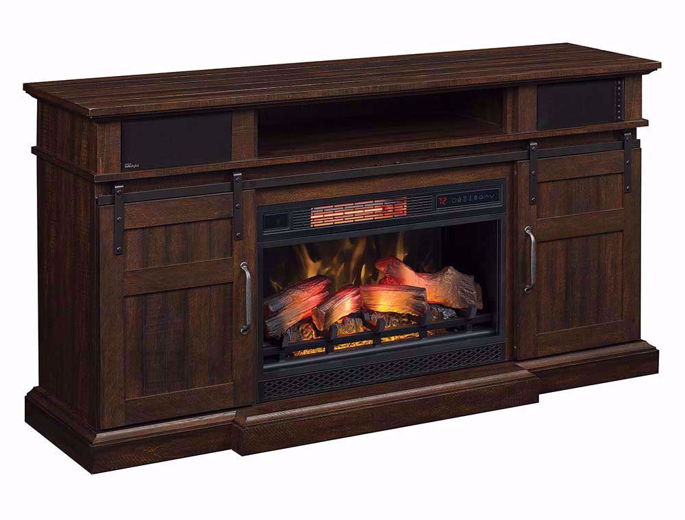 Picture of 60 Inch Hemson Mantel with Fireplace Insert