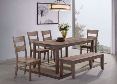 Sean Table and Six Chairs