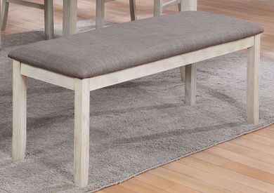 Nina Upholstered Backless Bench