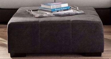 Discovery Black Cocktail Ottoman