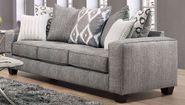 Stonewash Black Sofa
