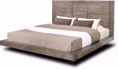 Logic Grey King Bed Set