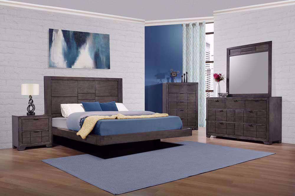 Picture of Logic Grey King Bedroom Set