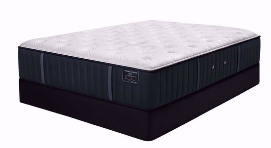 Picture of Stearns and Foster Rockwell Luxury Plush King Mattress Set