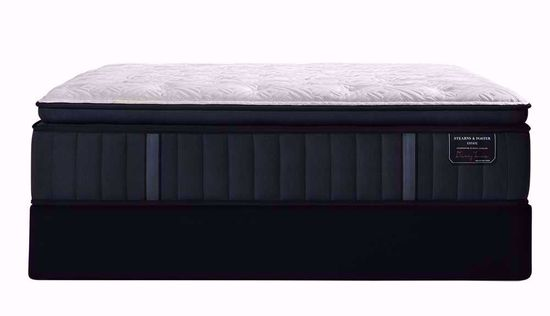 Picture of Stearns & Foster Rockwell Luxury Plush Euro Pillowtop Queen Mattress Set