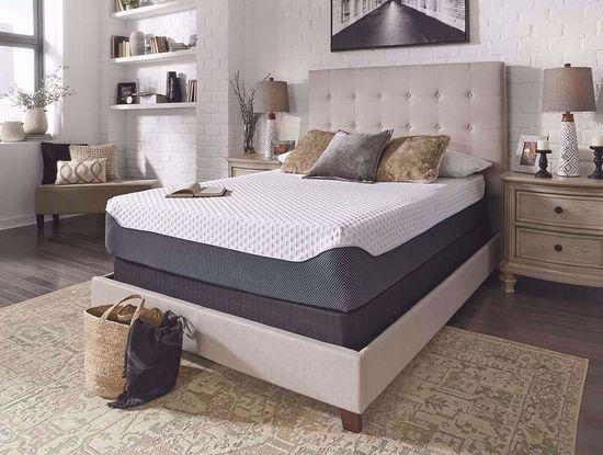 Picture of Ashley Chime Elite 12 Inch Twin Mattress Set