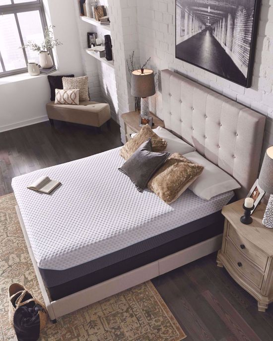 Picture of Ashley Chime Elite 12 Inch King Mattress Set