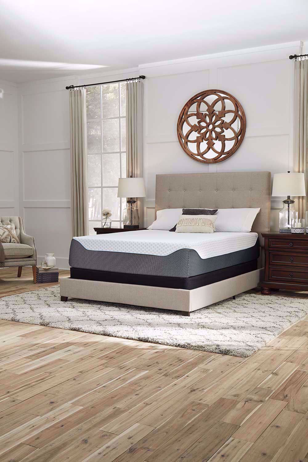 Picture of Ashley Chime Elite 14 Inch Queen Mattress Set