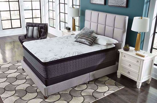 Picture of Ashley Bar Harbor Plush Pillowtop Queen Mattress Set