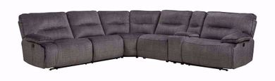 Evan Denim Six Piece Sectional