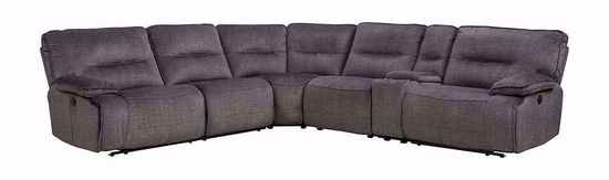 Picture of Evan Denim Six Piece Sectional