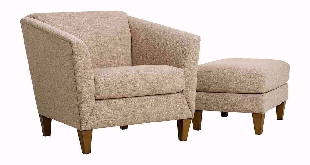 Picture of Emery Bamboo Ottoman