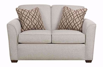 Lakewood White Loveseat