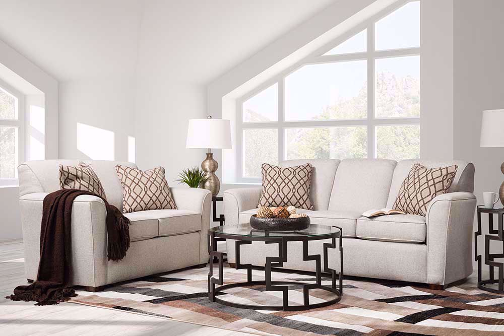 Picture of Lakewood White Loveseat