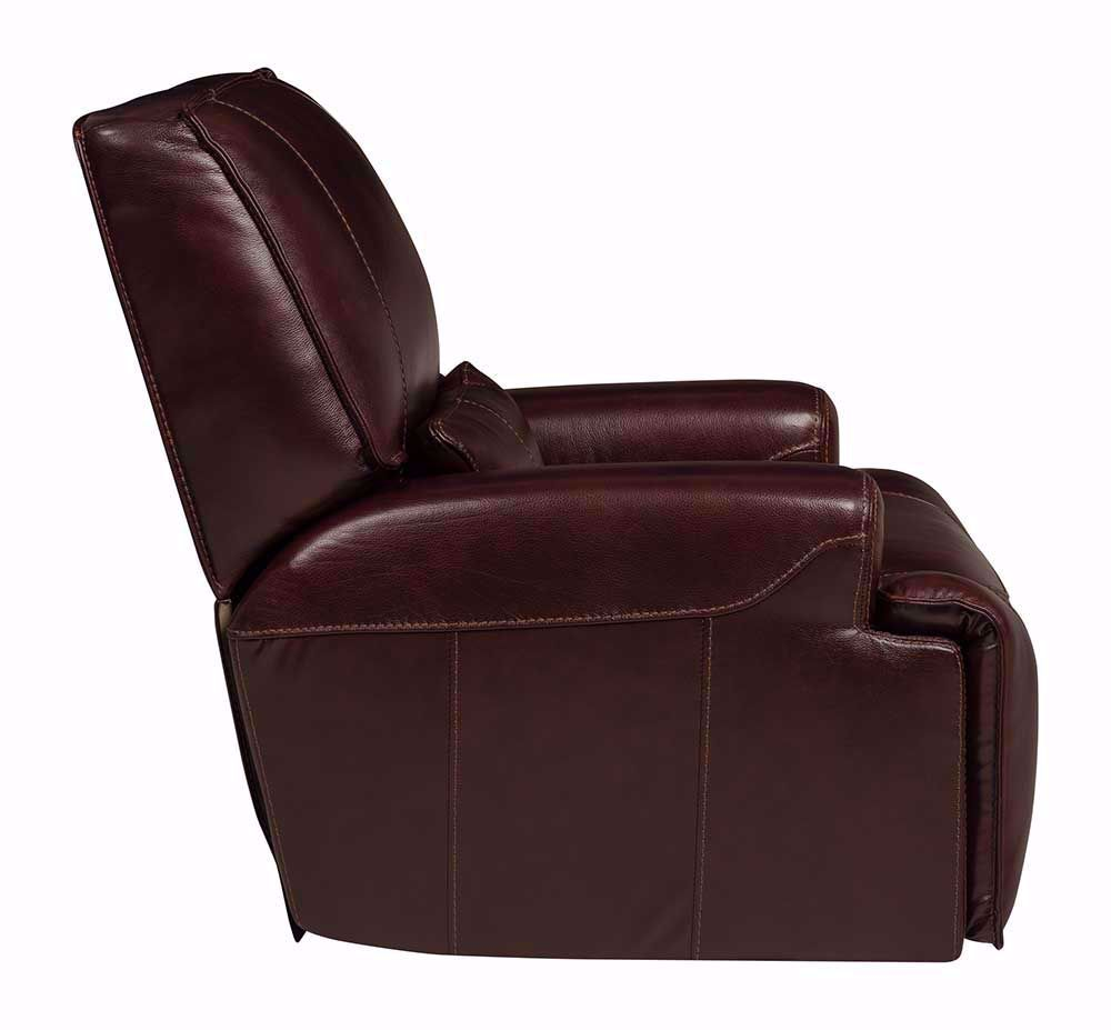Picture of Longhorn Cabernet Power Glider Recliner