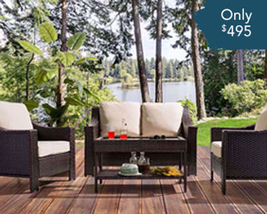 Patio Set Now 60% off