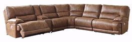Thurles Saddle Six Piece Power Reclining Sectional