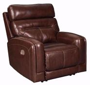 Sessom Walnut Power Recliner