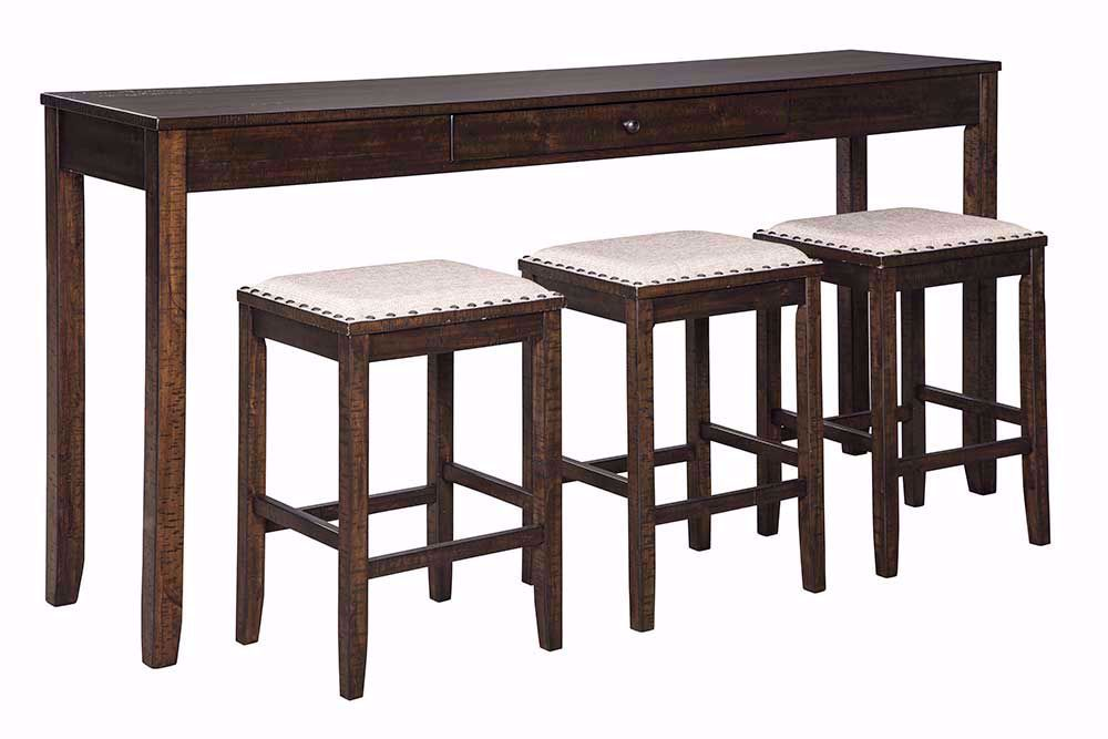 Picture of Rokane Sofa Bar Table with Three Stools