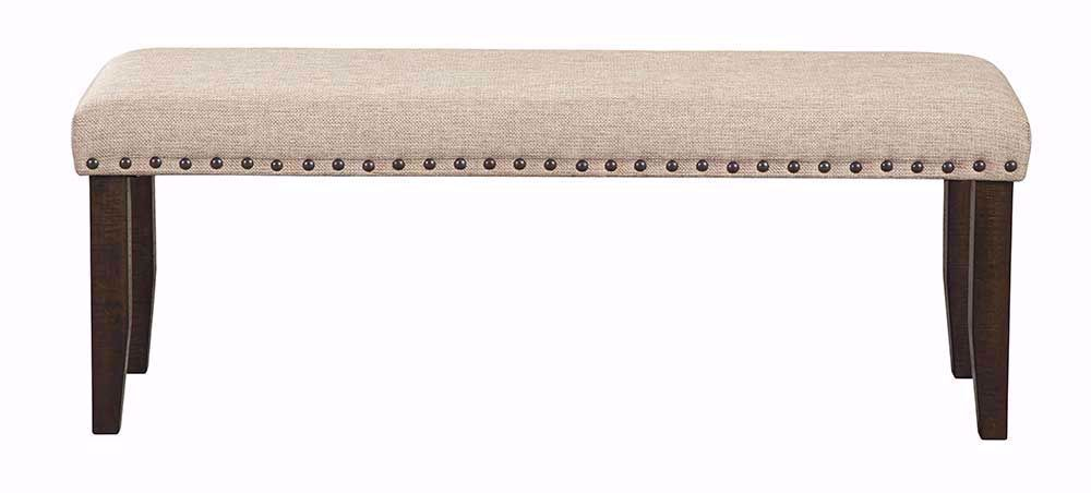 Picture of Rokane Upholstered Dining Bench