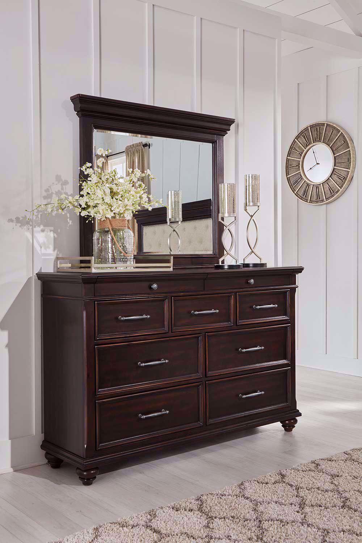 Picture of Brynhurst Dresser and Mirror Set