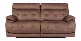 Cassi Chocolate Power Adjustable Reclining Sofa