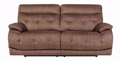 Cassi Chocolate Power Adjustable Reclining Sofa