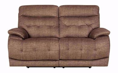 Cassi Chocolate Power Adjustable Reclining Loveseat