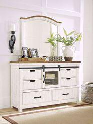Wystfield Dresser and Mirror Set