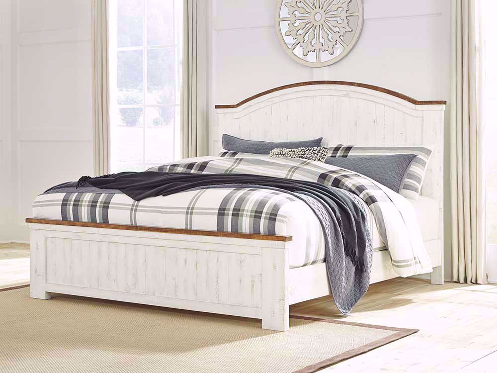 Picture of Wystfield King Panel Bed Set