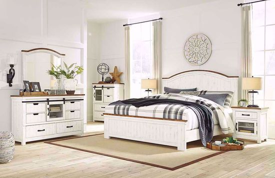 Picture of Wystfield King Panel Bedroom Set
