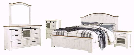 Picture of Wystfield Queen Panel Bedroom Set