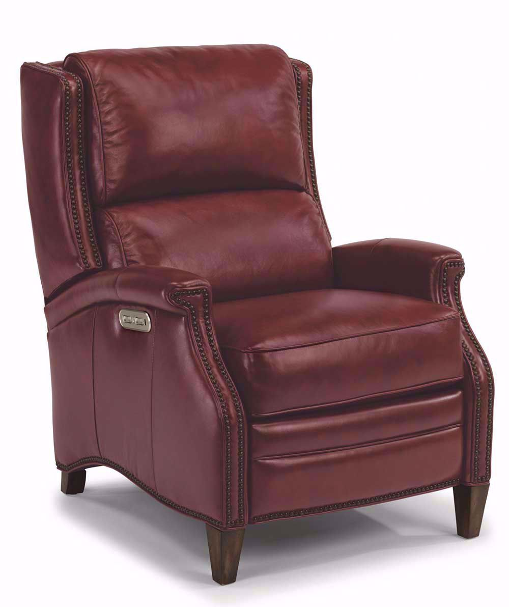 Picture of Bishop Red High Leg Recliner