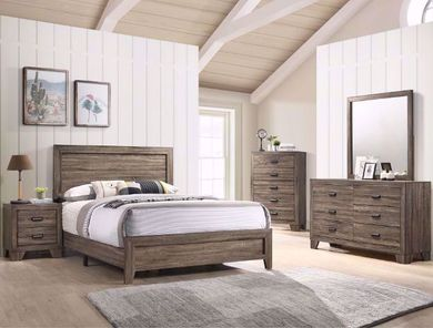 Millie Gray King Bedroom Set
