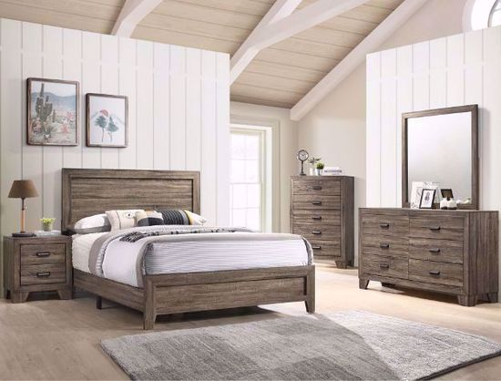 Picture of Millie Gray King Bedroom Set