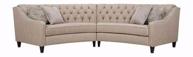Macintosh Sage Two Piece Sectional