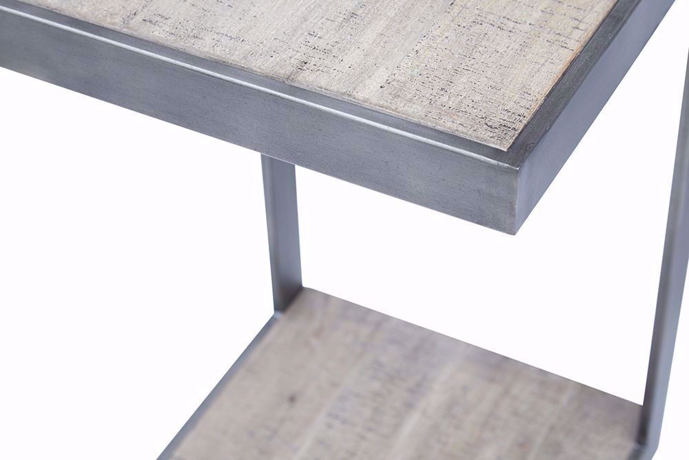 "Picture of Global Archive Antique Gray ""C"" Table"