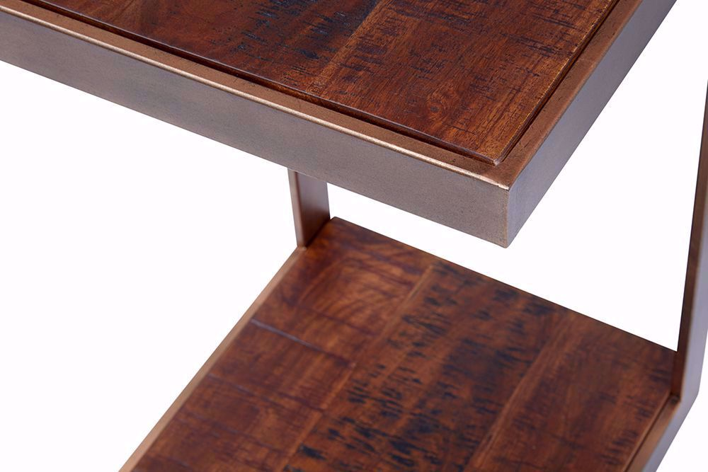 """Picture of Global Archive Burnished Copper """"C"""" Table"""