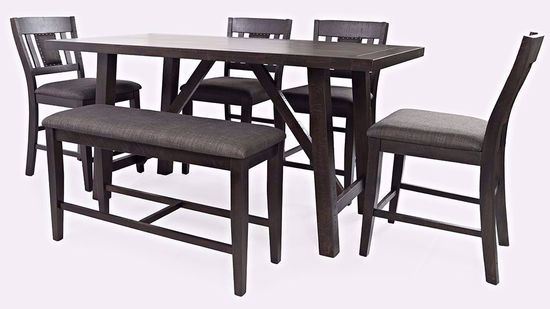 Picture of American Rustics Table and Four Stools