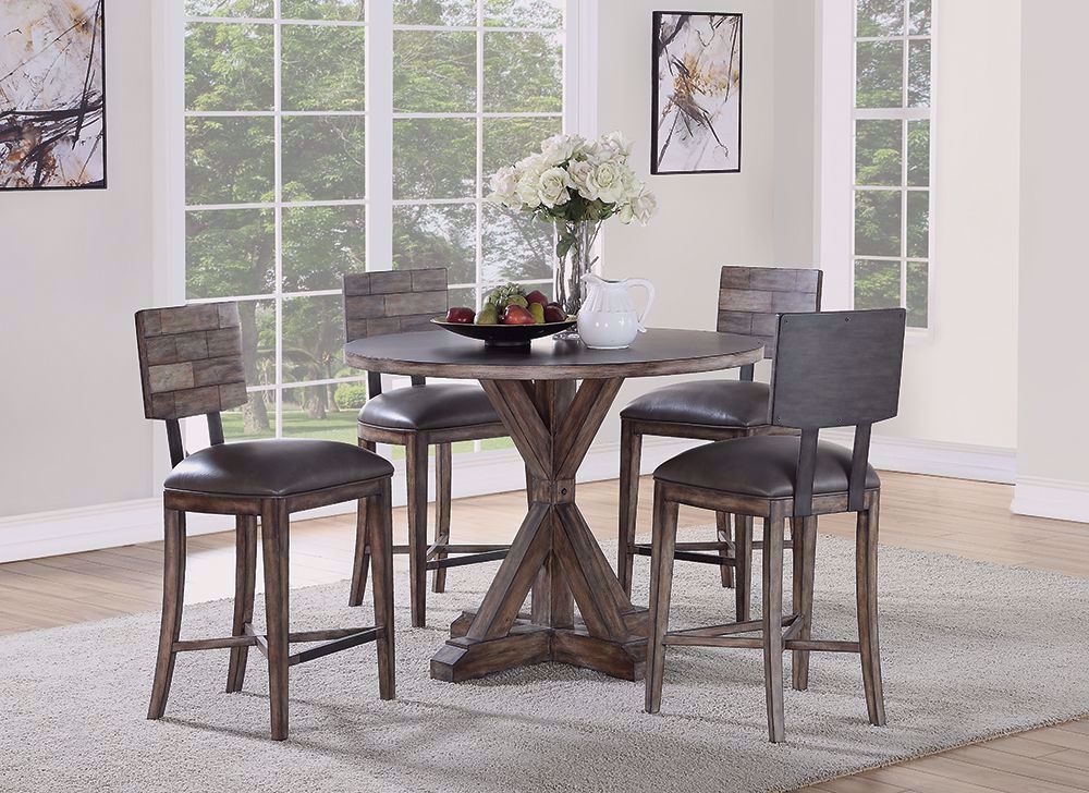 Picture of Fulton Counter Table with Four Stools
