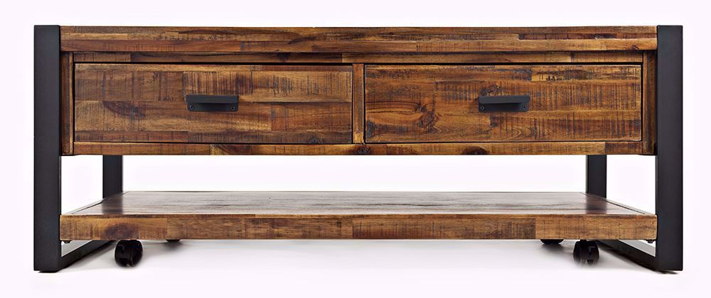 Picture of Loftworks Castered Two Drawer Cocktail Table