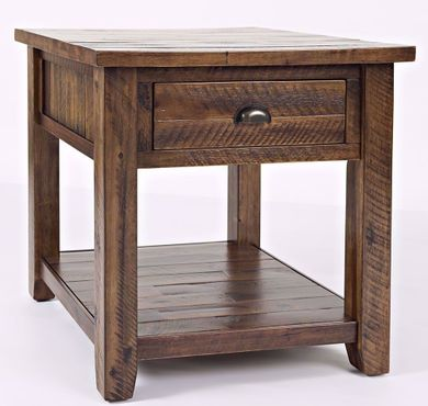 Artisan's Craft Oak End Table